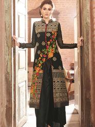 Viva N Diva Semi Stitched Georgette Floral Embroidered Semi Stitched Suits Nimaya-706