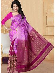 Viva N Diva Banarasi Silk and Jacquard  Saree Rinnie-1375