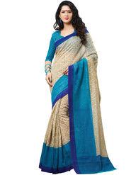 Shonaya Printed Handloom Cotton Silk Saree -Snhls-2003-B