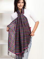 Aapno Rajasthan Pashmina  Multicolor Shawl -St1111