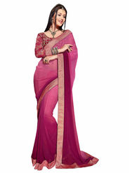 Khushali Fashion Georgette Embroidered Saree -Stast3208