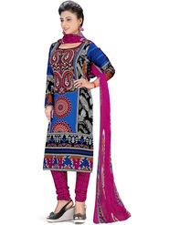 Khushali Fashion Crepe Printed Dress Material -Swsvh1014