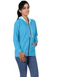 Softwear Denim Solid Jacket - Sky Blue_SWWDH-1025-SBL