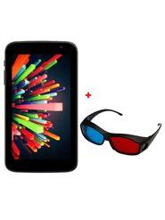 Swipe 7-Inch 3D Life Plus HDMI Tablet (4 GB, Wi-Fi, 3G) with Free 3D Glass - Black