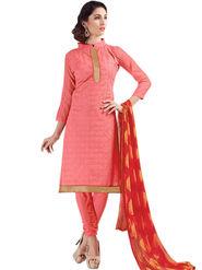 Thankar Semi Stitched  Cotton Embroidery Dress Material Tas288-2406