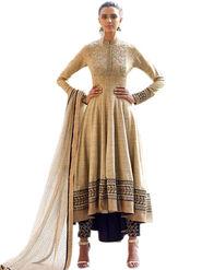 Thankar Semi Stitched  Khadi Cottan   Embroidery Dress Material Tas310-11036