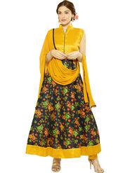 Thankar Printed Bhagalpuri Semi-Stitched Suit -Tas333-2052