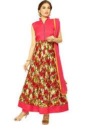 Thankar Printed Bhagalpuri Semi-Stitched Suit -Tas333-2056