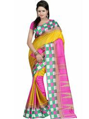 Thankar Embroidered Bhagalpuri Saree -Tds136-226