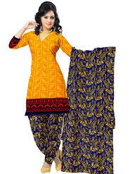 Triveni's Polyester Printed Dress Material -TSSTPMSK10015