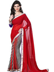 Triveni's  Georgette Printed Saree -TSSUMS11419