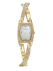 Titan Wrist Watch for Women - Off White_12339344