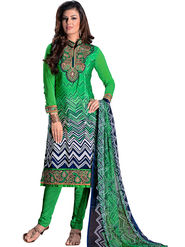 Khushali Fashion French Crepe Embroidered Dress Material -Vrvmtr6006