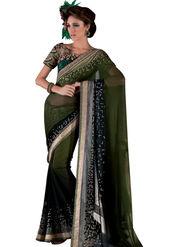 Viva N Diva Georgette Embroidered Saree Vanisha-2151