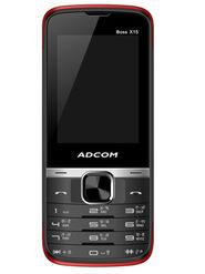 Adcom Boss X15 Dual Sim Phone - Black&Red