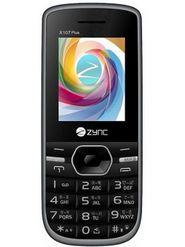 Zync X107 Plus Dual SIM Mobile Phone - Black