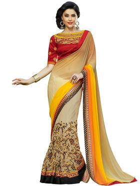 Nanda Silk Mills Designer Fancy Exclusive Saree_Vr-1410