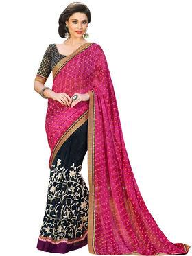 Nanda Silk Mills Designer Fancy Exclusive Saree_Vr-1409