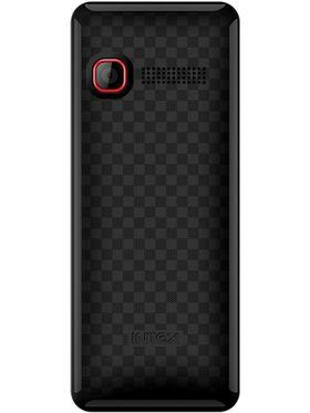 Intex Neo 201 Dual SIM Mobile Phone - Black & Red