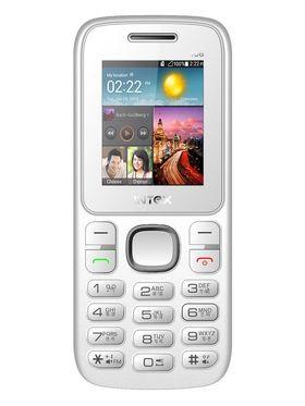 Intex Nano 106 Dual SIM Mobile Phone - White & Grey