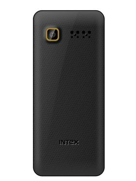 Intex Turbo S4 Dual SIM Mobile Phone - Golden & Black