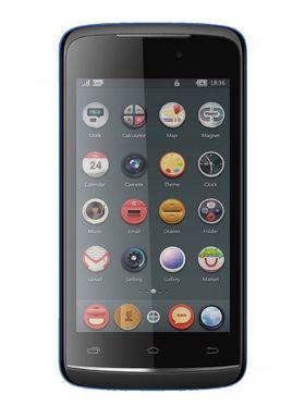 Intex Aqua Eco Smart Mobile Phone - Black & Blue