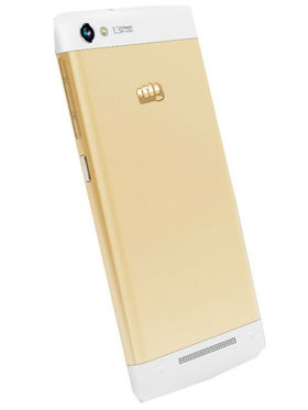 Micromax Canvas 4 Plus A315 - White & Gold