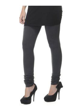 Combo Of 6 Lavennder Cotton Lycra Solid Legging_CNLEG-2904-1