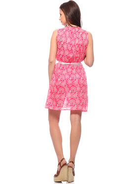 Combo Of 2 Mind The Gap Cotton Printed Dress_SFC-7003_7024