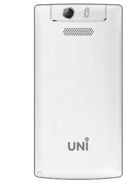 UNI N6100 Tri-Sim Feature Phone with 5 MP Camera - White