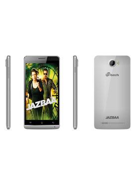 Mtech Jazbaa 5 Inch Android Lollipop Smartphone (RAM:2GB ROM:16GB) - Silver