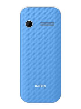 Intex Turbo S3 2.4 Inch Dual Sim - Blue & White