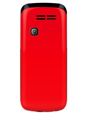 I Kall K99 1.8 inch Dual Sim Mobile  - Red & Black