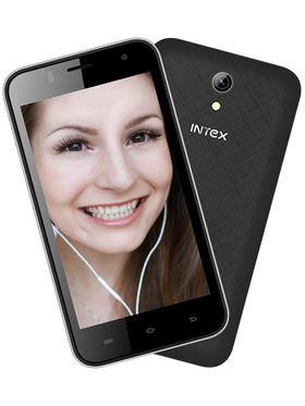 Intex Aqua Y4 4.5 Inch Android (KitKat) 3G Smartphone - Black