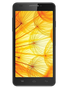Intex Aqua Xtreme II 16 GB 5 Inch Android KitKat 3G Smartphone - Black
