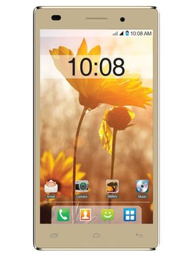 Intex Aqua power Plus 5 Inch Android Lollipop 3G Smartphone - Champagne