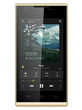 Karbonn A307 4 Inch Android KitKat 3G Smartphone - Gold
