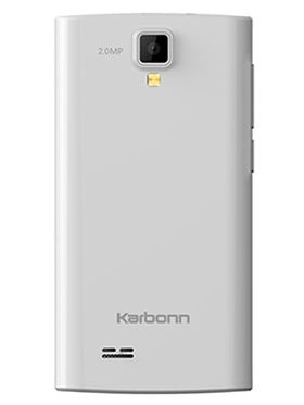 Karbonn A109 4 Inch Android KitKat 3G Smartphone - White