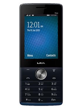 Lava KKT Mega 2.8 Inch Dual Sim - Black & Blue