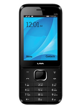 Lava KKT Jumbo 2.8 Inch Dual Sim - Black