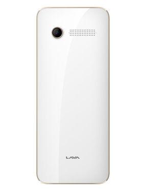 Lava Spark One 2.4 Inch Dual Sim - White & Gold
