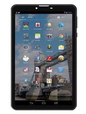 Vox V102 7 Inch Quad Core Android Kitkat Dual Sim 3G Calling Tablet - Black & White