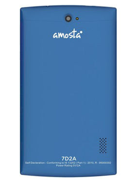 AMOSTA 7D2A Kitkat calling Tablet ( ROM : 4GB , Wi-Fi + 3G ) - Blue