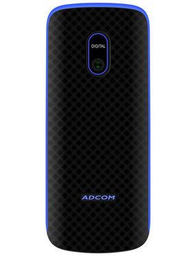 ADCOM Freedom X6 Dual SIM Mobile Phone - Black & Blue