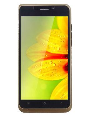 Swipe Konnect Pro Dual Sim Android Kitkat with 1GB RAM & 8 GB ROM -  Gold