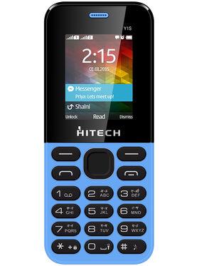 Hitech Yuva Y1S Dual Sim Mobile - Blue