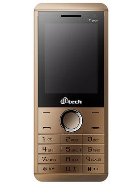 Mtech TRENDY Dual Sim Feature Phone - Coffee