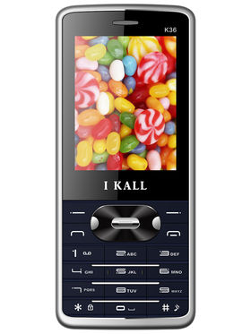 I Kall K36 Dual SIM Mobile Phone - Blue