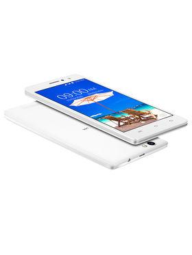 Lava A59 Lollipop 5.1 Quad Core Smart Music Phone (White)