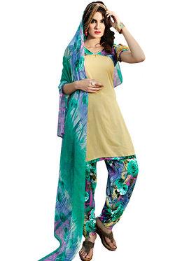 Viva N Diva Printed Unstiched Dress Material_11073-Stella